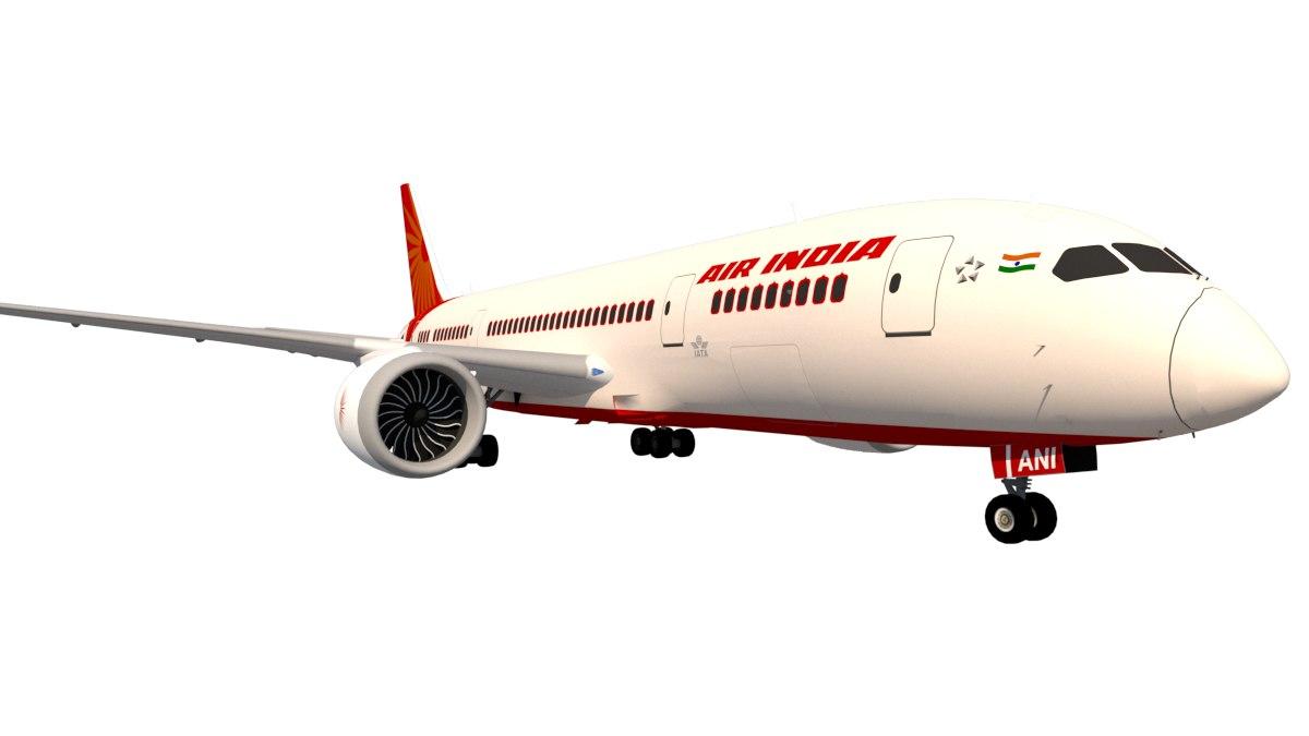 boeing 787-837 air india 3D model