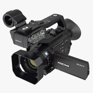 3D professional xdcam compact camcorder