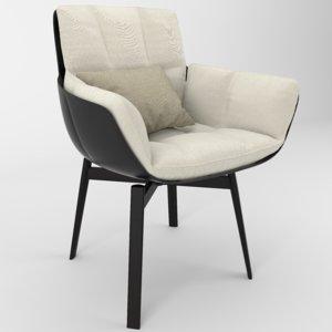 chair husk 3D