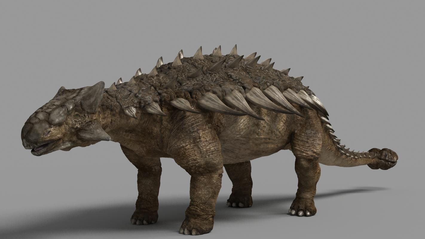 ankylosaurus 3D model