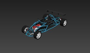 3D speedy buggy