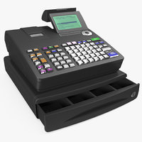 electronic cash register generic 3D model