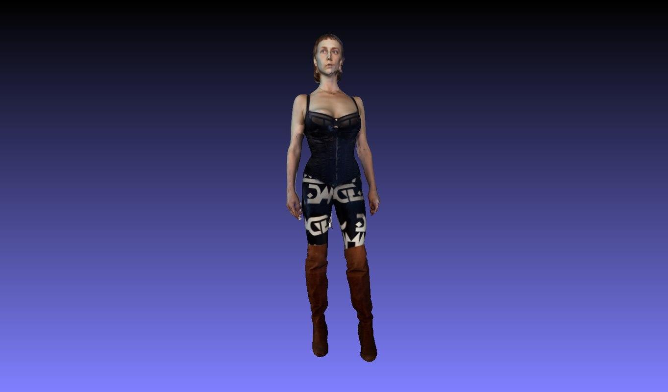 3D woman