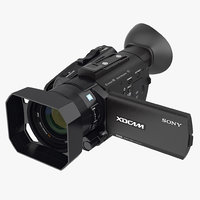3D compact camcorder sony pxws model