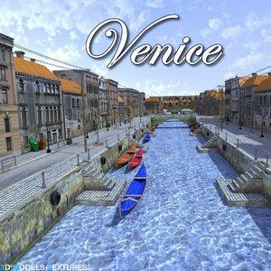 3D venice city model