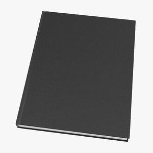 bound sketchbook medium 01 3D model