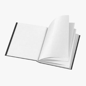 3D bound sketchbook medium 04