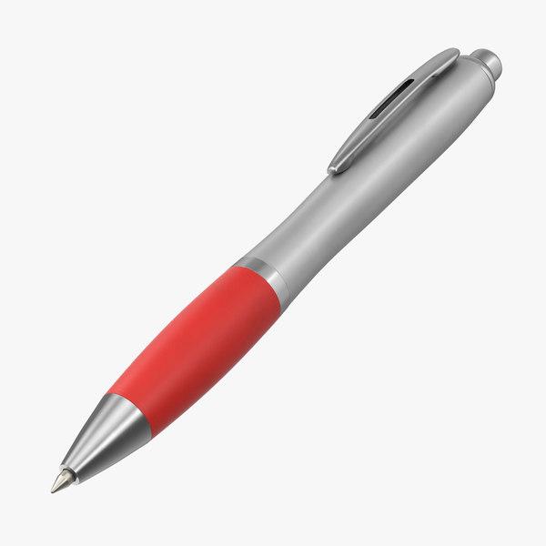 promotional ink pen mockup 3D