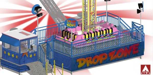 3D model drop zone