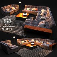 3D sofa professional architectural visualizations