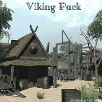 3D viking pack