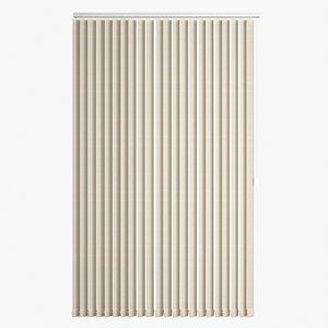 realistic vertical blinds 3D model
