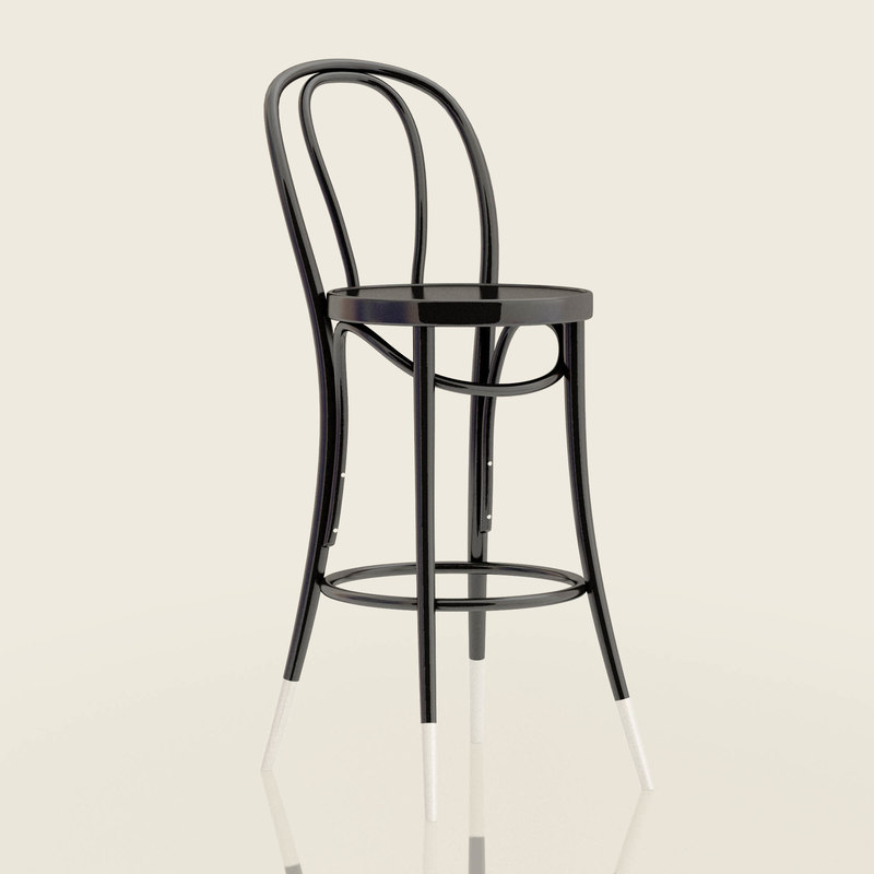 3D 18 Bar Stool Thonet36