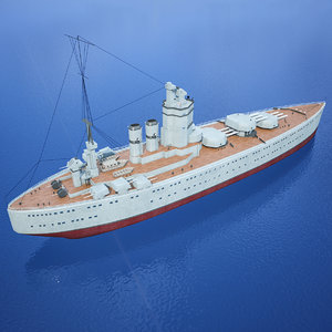 3D hms nelson royal navy