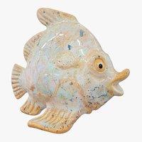ceramic fish figurine 3D model