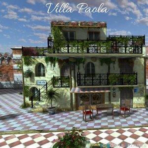 villa house 3D