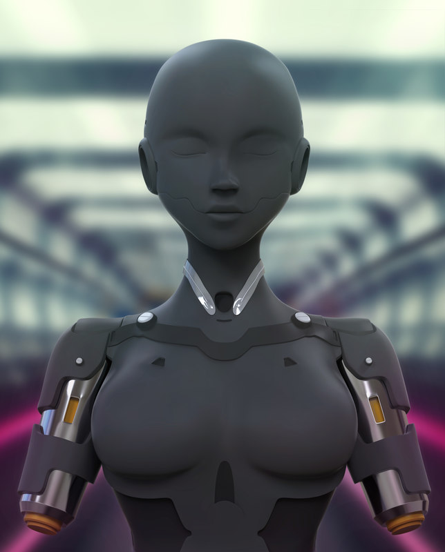 android girl model