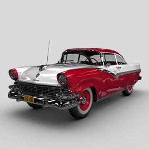 1956 fairlane 3D model
