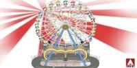 3D ferris wheel giant model