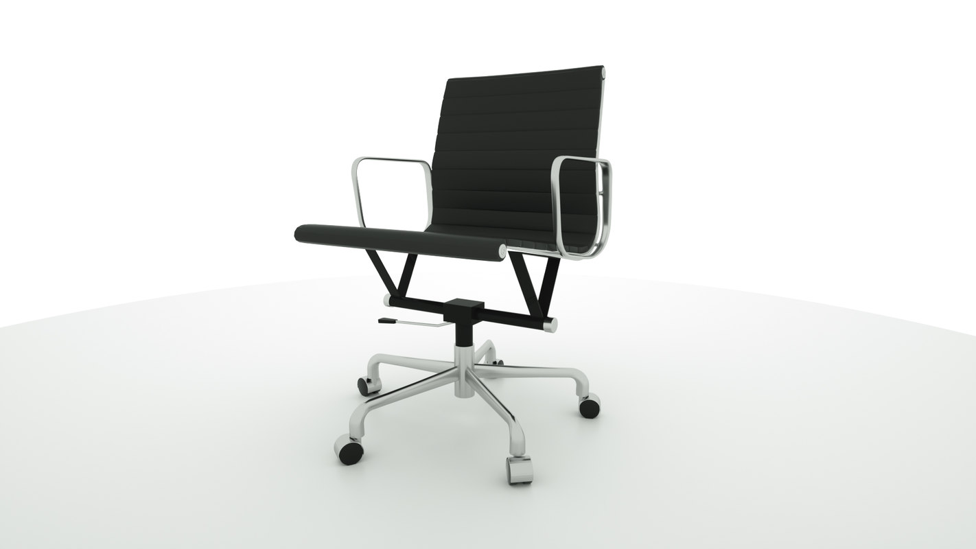 eames office chair 3D