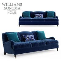 3D williams sonoma bedford sofa model