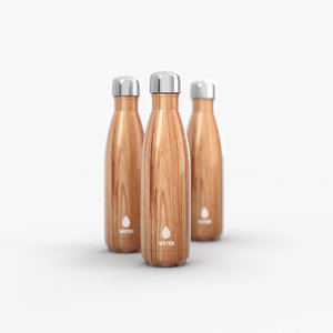 insulated water bottle 3D model