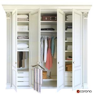 classic wardrobe model