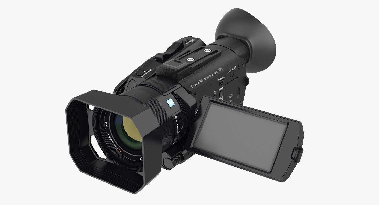 compact camcorder sony pxws model