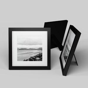 3D model modern picture frame -