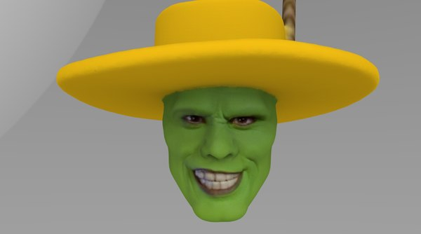 3D head mask model