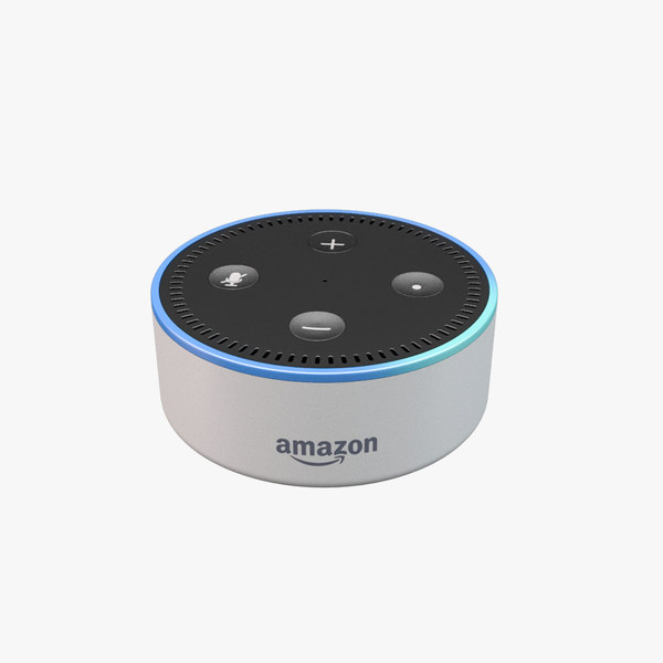 3D amazon echo dot model