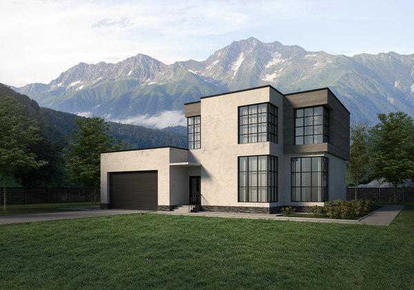 house private 3D