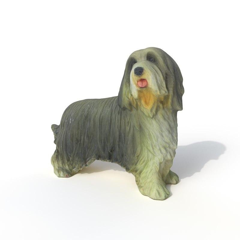 statuette dog 3D model