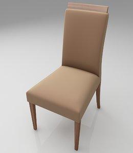 kitchen chair furniture 3D model