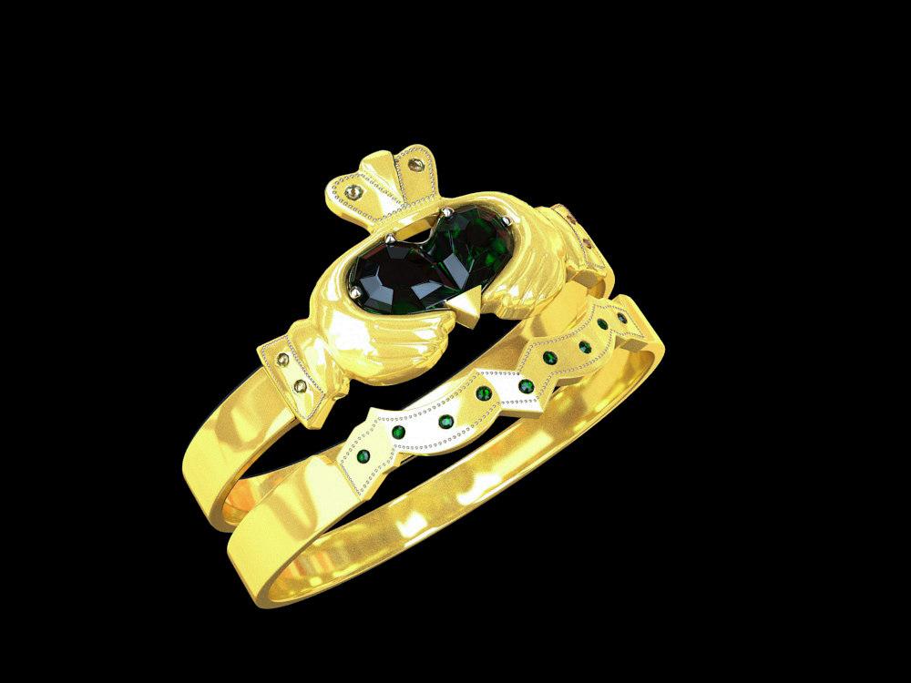 diamond ring jewelry 3D model