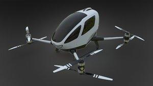 3D ehang184 drone model