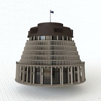 3D beehive parliament building model