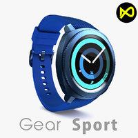 3D samsung gear sport model