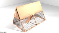 3D hen house