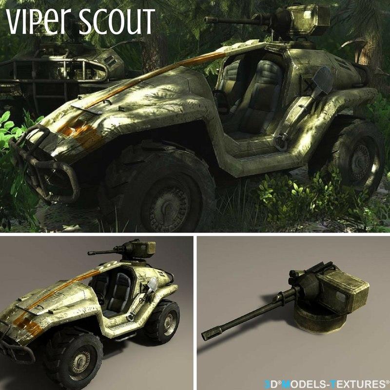 viper scout 3D model