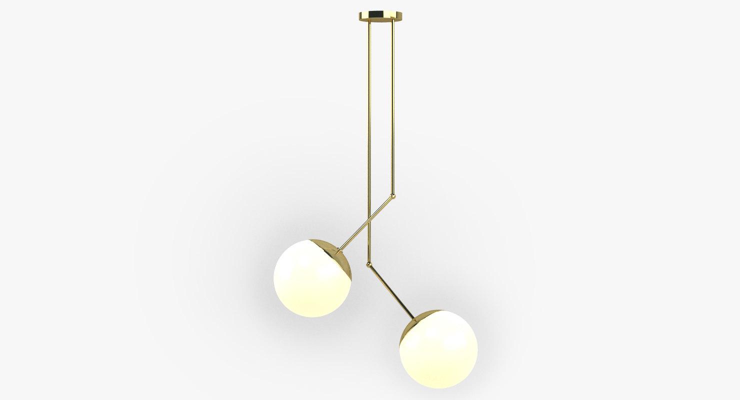 ceiling lamp light 3D model