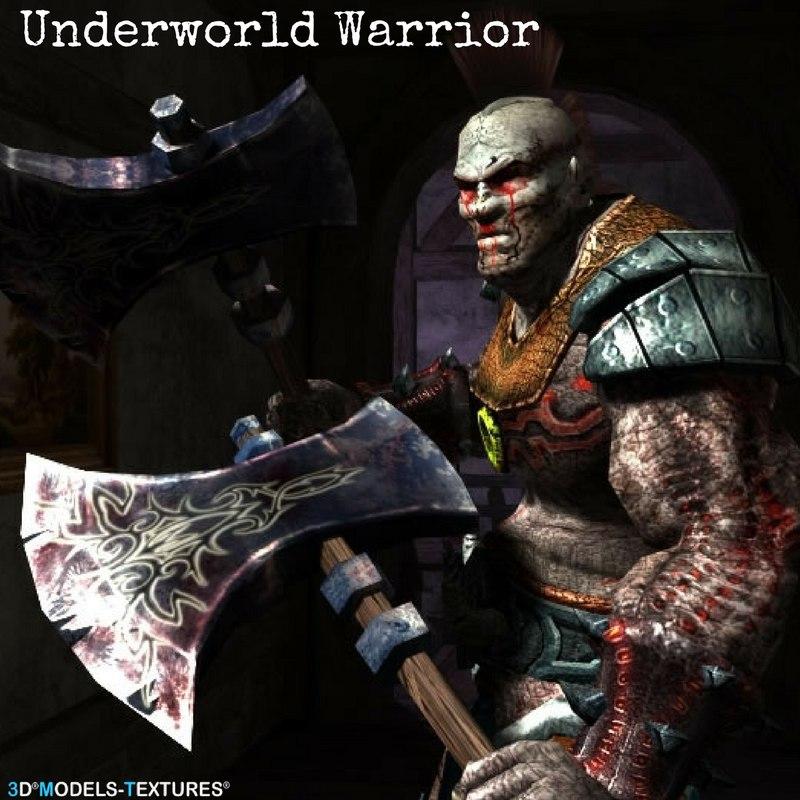 underworld warrior 3D