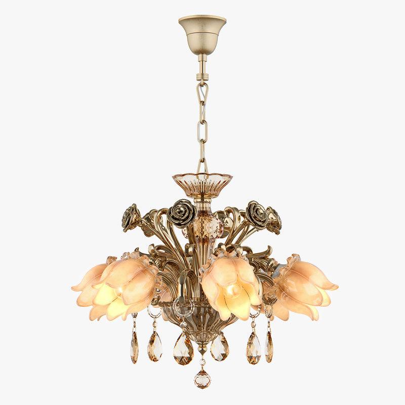 3D chandelier md 3269-6 osgona model