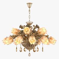 3D model chandelier md 3269-12 6