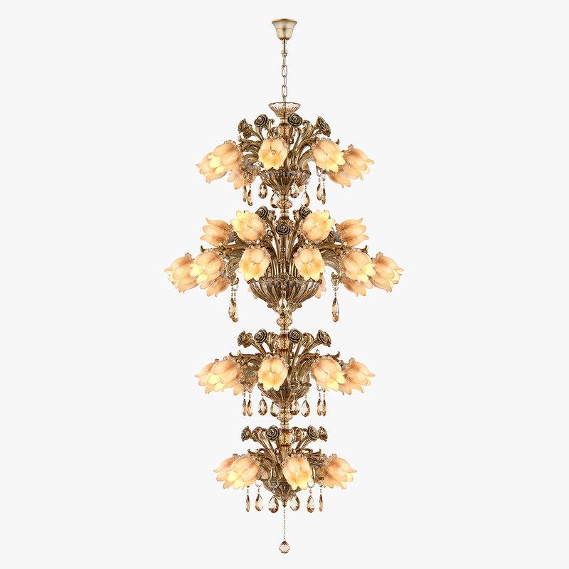 chandelier md 3269-40 osgona 3D model