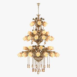 3D chandelier md 3269-48 osgona model