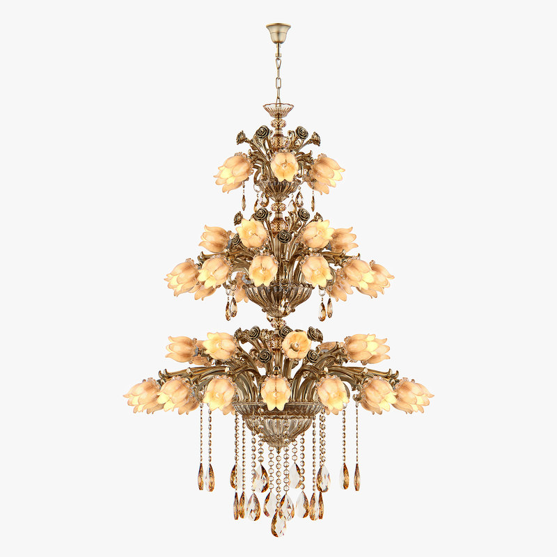 3D chandelier md 3269-48 osgona model