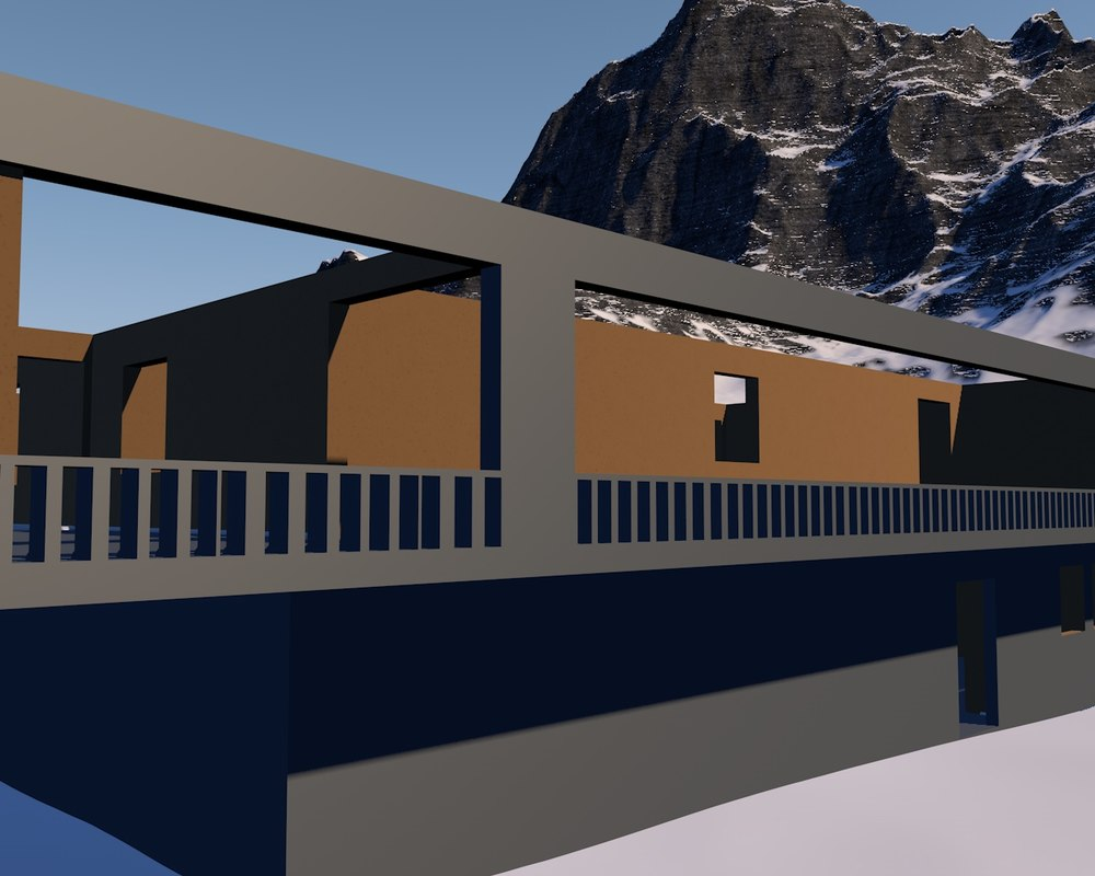 house floor 2 3D model