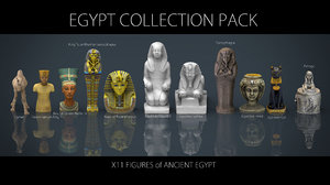 3D egypt pack model