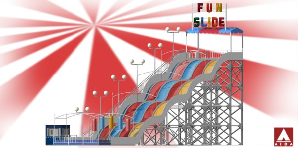 fun slide 3D